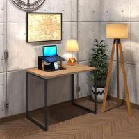 Mesa Para Escritório Diretor Estilo Industrial  Vintage   Tam: 80x60 cor: Lamina Dourada