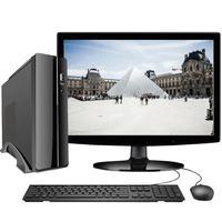Computador Completo Intel 10ª Geração Pentium G6400 Com Windows 10 Professional Monitor 15.6´´ Hdmi 4gb Ssd 120gb Skill Msw Slim