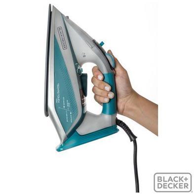 Ferro a Vapor Black & Decker, Com 05 Níveis de Temperatura, Auto Stop e Função Corta Pingos, 220V - Aj4000