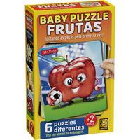 Quebra Cabeça Cartonado Baby Puzzle Frutas 2 Peças