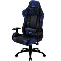 Cadeira Gamer Office Giratória Com Elevação A Gás Bc3 Camuflado Azul Admiral - Thunderx3