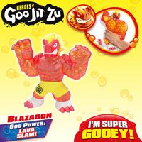 Figura Elástica - Heroes Of Goo Jit Zu -  Blazagon - Sunny