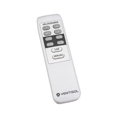 Ventilador De Teto Ventisol Aires Com Controle Remoto 3 Pás Branco - 220v