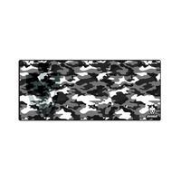 Mousepad Gamer (70x30cm) - Camuflado Cinzento