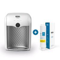 Kit 1 Ano Eos - Purificador De Água Eos Premium Branco Epe01b + Filtro Refil Efp01 Bivolt