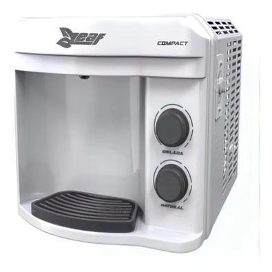 Purificador Água Refrigerado Compressor Leaf Compact 220 V Branco