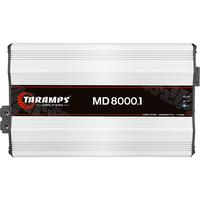 Módulo Taramps Md 8000.1 8000w Amplificador Automotivo Módulo Taramps Md 8000.1 1 Ohm 8000w Amplificador Automotivo