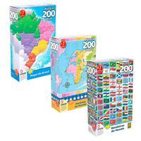 Combo Puzzles Mundo