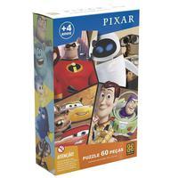 Quebra Cabeça 60 Peças Pixar