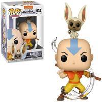 Boneco Funko Pop Avatar Aang Momo 534