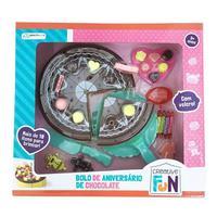 Creative Fun Bolo De Chocolate Indicado Para +3 Anos Colorido Multikids - Br649 - Padrão