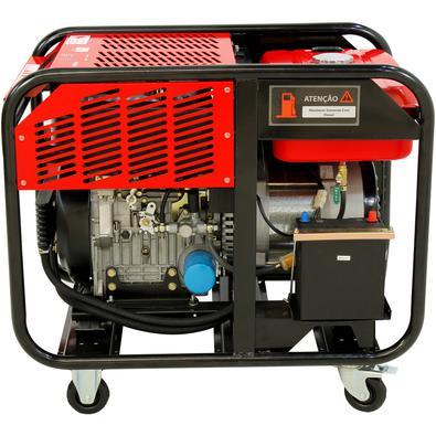 Gerador A Diesel 11kva Monofásico 110/220v Partida Elétrica Refrigerado A Ar - Nngd13ea - Nagano