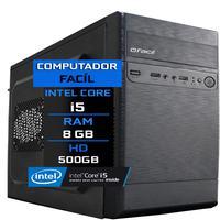 Computador Fácil Intel Core I5 8gb Hd 500gb