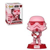 Boneco Funko Pop Star Wars Valentines Stormtrooper With Heart 418