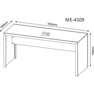 Mesa Para Computador  Me4109 - Tecno Mobili. - Carvalho