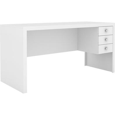 Mesa Para Computador 3 Com Gavetas Me4113 - Tecno Mobili - Branco