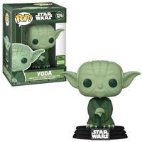 Boneco Funko Pop Star Wars Artist Yoda Military Green 124