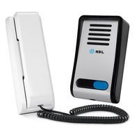 Porteiro Eletronico Hdl F8-s Com Interfone Az-s01 Aluminio