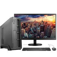 "Computador Completo Fácil Slim Intel 4GB, SSD 240GB, c/ Monitor 19"" HDMI Led, Teclado e Mouse"