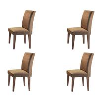Conjunto Com 04 Cadeiras Grécia Rufato