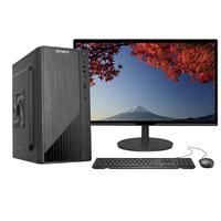 """Computador Completo Fácil Intel Core I3 10100F Décima Geração, 8GB DDR4, Geforce, SSD 120GB, Monitor 21.5"""", HDMI"""