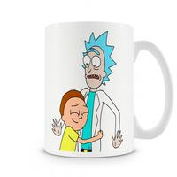 Caneca Rick And Morty The World