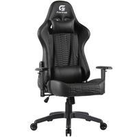 Cadeira Gamer Giratória Com Elevação A Gás 02 Almofadas De Apoio Cruiser H01 Preto - Fortrek
