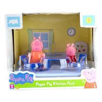 Cenario Da Peppa Sortidos -mamãe Pig E Peppa -cozinha -sunny