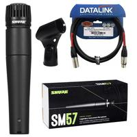 Microfone Shure Sm57-lc + Cabo Xlr