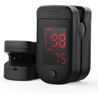 Oximetro Digital De Dedo Pulso Tela Led Aiqura Ad800