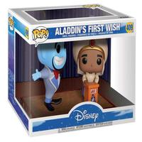 Boneco Funko Pop Disney Aladdin *moments* Aladdin & Genie 409
