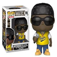 Boneco Funko Pop Rocks The Notorious B.i.g Notorious B.i.g Jersey 78