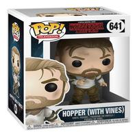 Boneco Funko Pop Stranger Things 5 Hopper With Vines 641
