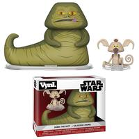 Boneco Funko Vinyl Star Wars Jabba The Hutt + Crumb
