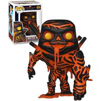 Boneco Funko Pop Marvel Spider-man Molten Man 474