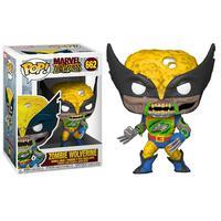 Boneco Funko Pop Marvel Zombies Wolverine Glows 662