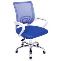 Cadeira Escritório Giratória Wave Com Encosto Em Tela