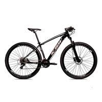 Bicicleta Alum 29 Ksw Cambios Gta 24 Vel A Disco Ltx Hidráulica - Preto/prata