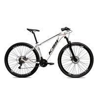 Bicicleta Alumínio Aro 29 Ksw 24 Velocidades Freio A Disco Krw16 - 19'' - Branco/preto