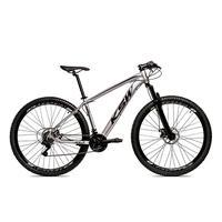 Bicicleta Alumínio Aro 29 Ksw Shimano Tz 24 Vel Ltx Krw20 - 21´´ - Prata/preto