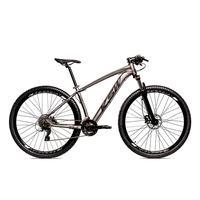 Bicicleta Alum 29 Ksw Shimano 27v A Disco Hidráulica Krw14 - 17´´ - Grafite/preto Fosco