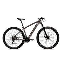 Bicicleta Alumínio Aro 29 Ksw Shimano Tz 24 Vel Ltx Krw20 - 15.5´´ - Grafite/preto Fosco