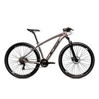 Bicicleta Alumínio Aro 29 Ksw 24 Velocidades Freio  Hidráulico Krw17 - 19´´ - Grafite/preto Fosco