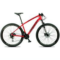 Bicicleta Aro 29 Dropp Tx 24v Acera, Susp E Freio Hidraulico - Vermelho/preto - 19''