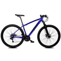 Bicicleta Aro 29 Dropp Z1x 21v Shimano, Susp E Freio A Disco - Azul/preto - 21''