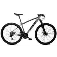 Bicicleta Aro 29 Dropp Z1x 21v Shimano, Susp E Freio A Disco - Cinza/preto - 21´´ - 21´´