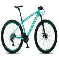 Bicicleta Aro 29 Dropp Rs1 Pro 21v Tourney Freio Disco/trava - Verde/branco - 15