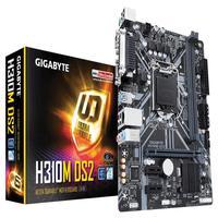 Placa Mãe Gigabyte H310M-DS2, LGA 1151-DDR4 2666, Chipset Intel H310, Oitava Geração, Coffee Lake, Micro ATX