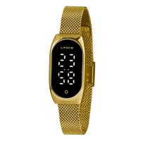 Relógio Lince Feminino Classic Dourado Ldg4642l-pxkx