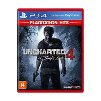 Jogo Uncharted 4: A Thief´s End - Ps4